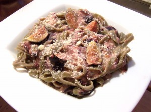 Fig and Chile Pasta