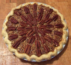 fish-free pecan pie