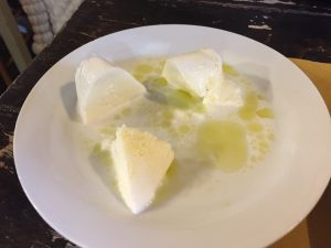 Fresh Mozzarella with Olio Nuovo