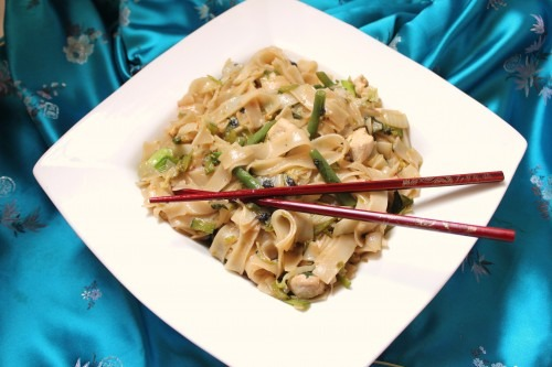 The service will not be catered (featuring Pad Kee Mao aka Drunken Noodles)