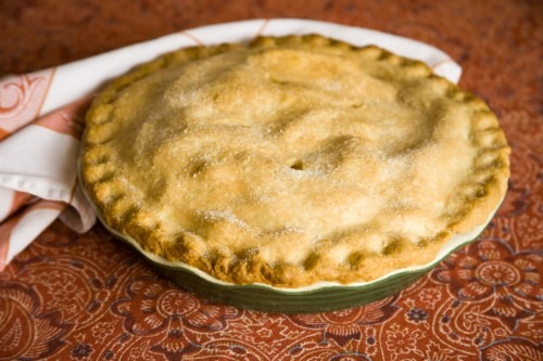 I now pronounce you… (featuring Apple Cranberry Pie)