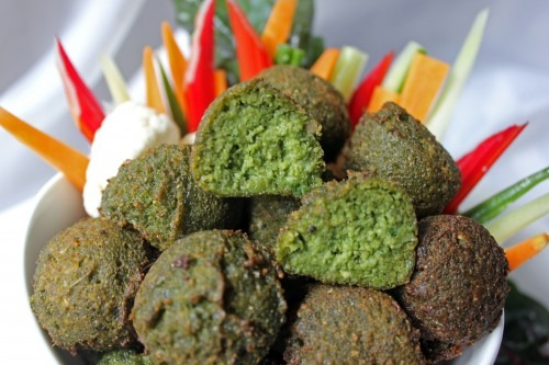 PETV (People for the Ethical Treatment of Vegetables) Featuring Gluten-Free Falafel