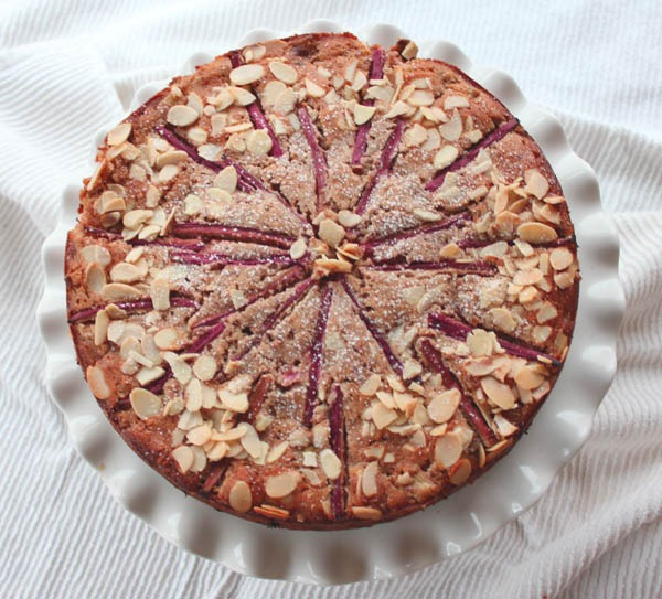 Mercury Poisoning (featuring Almond Cake with Rhubarb and Cardamom)