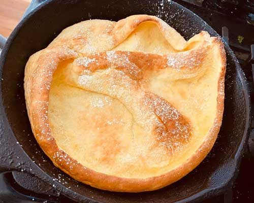 Tilting at Bagpipes (featuring Dutch Baby Pancake with Lemon and Sugar)